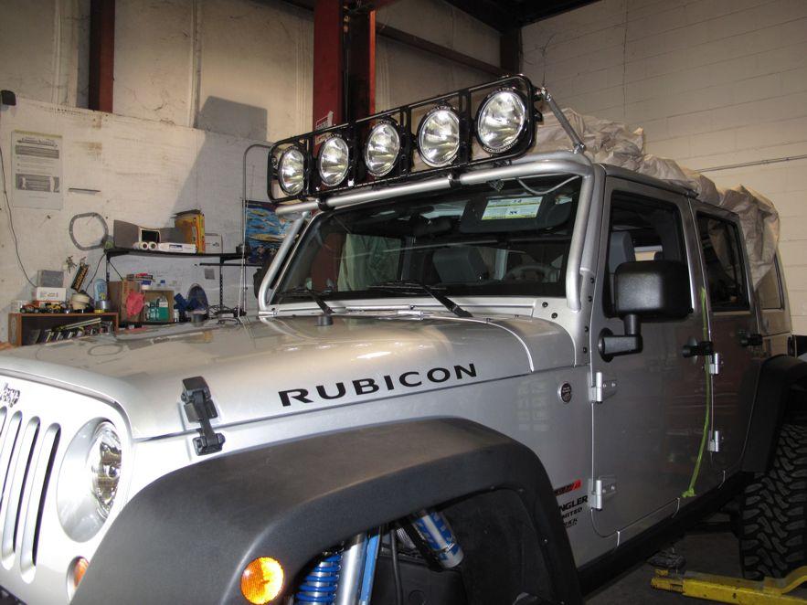 Baja light rack cosmecol windshield light bar page 3 jeepforum com aloadofball Gallery