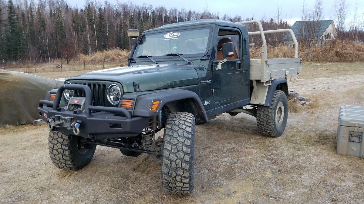 Jeep Brute For Sale >> 98 Aev Brute With Ute Bed For Sale American Expedition Vehicles