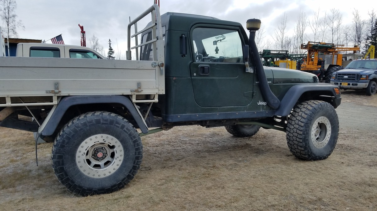 Jeep Brute Price >> '98 AEV TJ Brute, w/ UTE bed - JeepForum.com