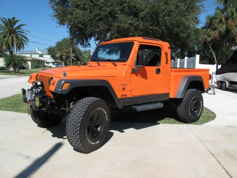 Jeep Brute For Sale >> 2003 Aev Orange Brute For Sale American Expedition